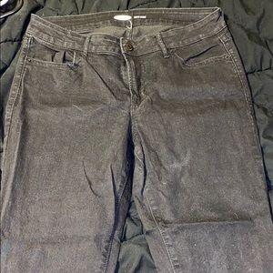 Black Old Navy super skinny jeans